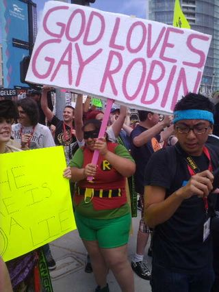 God loves gay robin