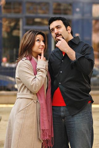Daniel and dina nayeri