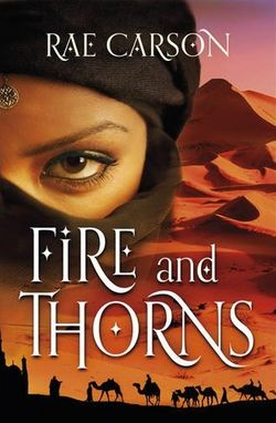 Girl of fire and thorns uk cover