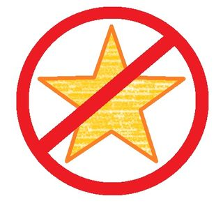 No star for you