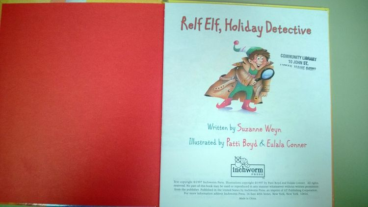 Relf elf holiday detective