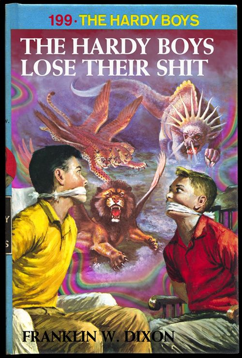 Hardy boys lose their shit