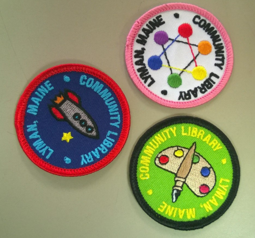 Summer reading badges 2014