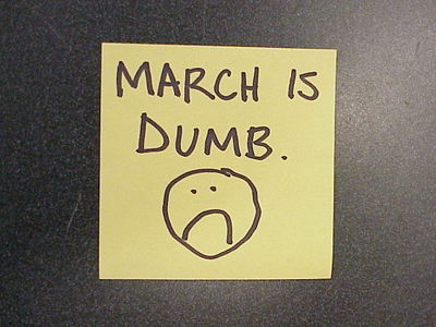 March_is_dumb