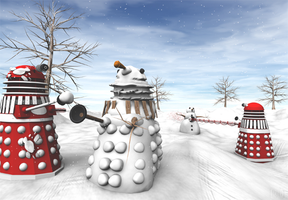 Warm Dalek Christmas Wishes | The Daily P.O.P.